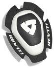 REVITレブイット膝プロテクター・ニーガードデュアルコンプニースライダータイプAカラー:ホワイト/ブラック