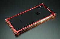 GILD design ギルドデザイン ソリッドバンパー for iPhoneX (EVANGELION Limited) カラー:ゴールド・レッド(エヴァンゲリオン2号機) iPhoneX