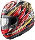ウェビック 楽天市場店で買える「Arai アライ フルフェイスヘルメット RX-7X NAKAGAMI 中上 GP [アールエックス セブンエックス ナカガミGP] ヘルメット サイズ:M(57-58cm」の画像です。価格は67,100円になります。