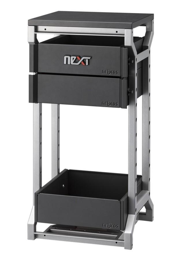KTC Nepros ネプロス その他、工具箱(収納) nepros neXT ナローベース(3段2引出し)