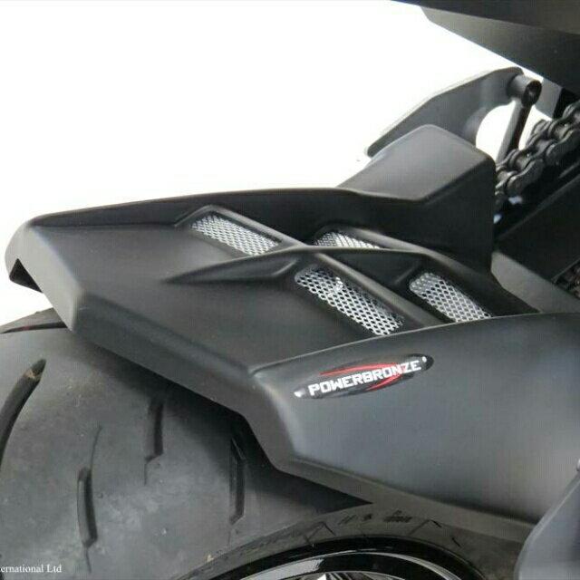 ODAX オダックス リアフェンダー POWERBRONZE インナーフェンダー カラー:カーボン調/ゴールドメッシュ Ninja250 Ninja400 Z250 Z400