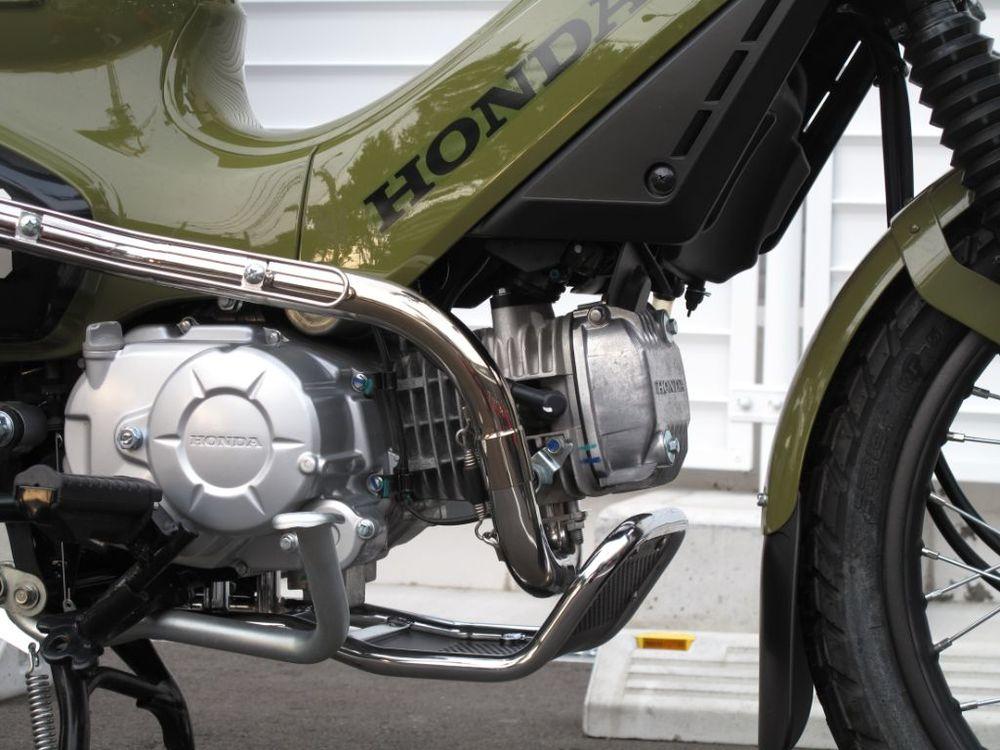 HOT LAP ホットラップ フルエキゾーストマフラー アップマフラー Type2 タイプ:アップマフラー(ワイヤースタイルヒートガード付き) クロスカブ110