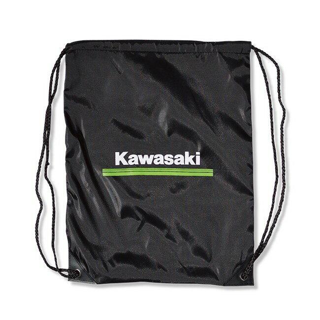 バイクウェア・プロテクター, ゴーグル US KAWASAKI Kawasaki 3 Green Lines Clinch Drawstring Bag