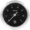 STACK スタック CLASSICシリーズ オイルプレッシャー計(油圧計)