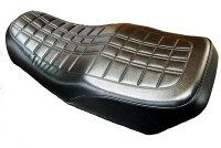 DOREMICOLLECTIONドレミコレクションタンクペイント済スチールタンクセットFXタイプカラー:E4エボニー(黒+ピンスト枠ライン)シート:後期タイプシートZEPHYR400