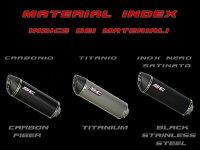 SC-PROJECTスリップオンマフラーショートカーボンオーバルスリップオンサイレンサーサイレンサータイプ:カーボンサイレンサー(カーボン製テイルエンドカバー付き)CBR600Fホーネット600