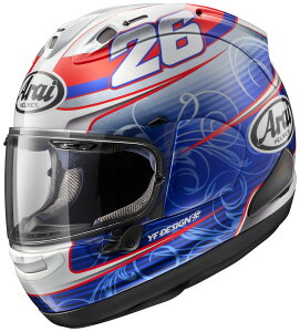 【在庫あり】Arai アライ フルフェイスヘルメット RX-7X PEDROSA [アールエックス セブンエックス ペドロサ] ヘルメット サイズ:M(57-58mm)