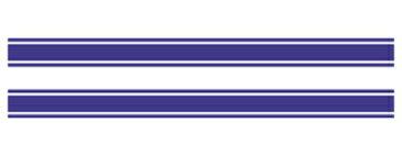 【在庫あり】MDF エムディーエフ ステッカー・デカール ライングラフィック ストライプタイプ サイズ:スモール(長さ:550mm/幅:40mm・2本セット)
