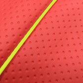 GRONDEMENT グロンドマン その他シートパーツ 国産シートカバー 被せタイプ カラー:フルエンボスレッド/黄色パイピング リトルカブ