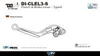 Dimotivディモーティヴアジャスタブルレバーブレーキ/クラッチセットタイプ3エクステンションカラー:レッドボディーカラー:レッド(アジャスターカラー:ブラック)ZX-10R16