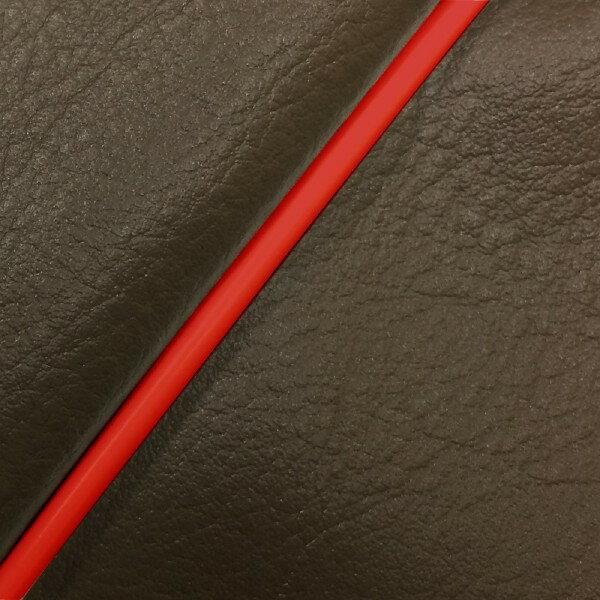 GRONDEMENT グロンドマン その他シートパーツ 国産シートカバー 張替タイプ カラー:ダークブラウン/赤パイピング ダンク