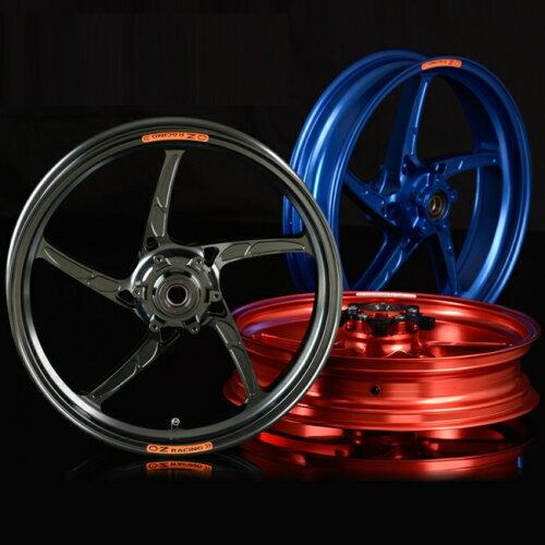 OZレーシング ホイール本体 OZ-5S PIEGA アルミ鍛造ホイール カラー:レッド XJR1200 94-97