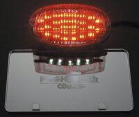 【セール特価!】【POSH】【ポッシュ】【】【テールランプ】【LEDテールランプユニット】【カラー:スモーク】【BALIUS[バリオス]/II】