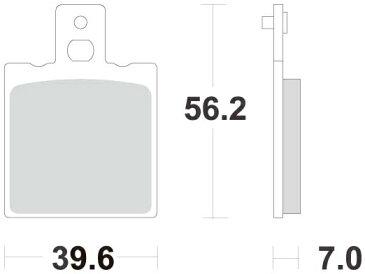 【在庫あり】ACCOSSATO アコサット ブレーキパッド・シュー ブレーキパッド AGPA31 タイプ:オーガニック