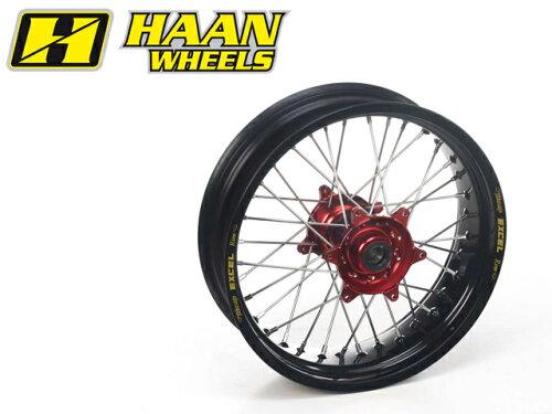 HAAN WHEELS ハーンホイール ホイール本体 リアモタードコンプリートホイール R4.50/17インチ カ...