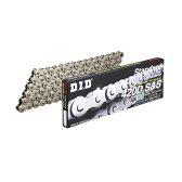 DID ダイドー スタンダードシリーズチェーン 420D シルバー 【クリップ(RJ)ジョイント付属】【特価商品】 リンク数:100