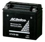 ACDelco ACデルコ DTX12-BS メンテナンスフリーバッテリー (電解液付属)
