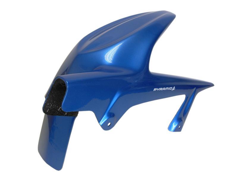Pyramid Plastics ピラミッドプラスチック メタリック・アイランド・ブルー・リアフェンダー(METALLIC ISLAND BLUE Hugger) Ninja 250 R画像
