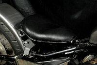 部品屋K&Wシート本体専用ソロシートキットスプリングタイプ(本革サドルシート)カラー:黒STEED400[スティード]:STEED600[スティード]