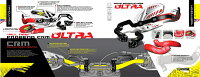 CYCRAサイクラハンドガードC.R.M.ウルトラハンドガードフルキットカラー:ハスク・ブルーハンドルタイプ:テーパーバー用
