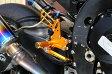 BABYFACE ベビーフェイス バックステップ レースステップキット カラー:シルバー GSX-R1000 GSX-R600/750