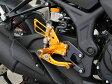 【イベント開催中!】 BABYFACE ベビーフェイス バックステップ レースステップキット カラー:シルバー YZF-R25