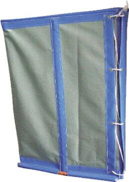 TRUSCO トラスコ中山 工業用品 ユタカ 収集袋 フレコンスタンド 830×830×1100 グリーン