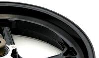 GALESPEEDゲイルスピードホイール本体アルミニウム鍛造ホイール【TYPE-S】ガラスコーティングカラー:半ツヤブラックB-KING(ABS)'08-'11GSX1300R(ABS)'13-'16
