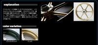 GALESPEEDゲイルスピードホイール本体アルミニウム鍛造ホイール【TYPE-N】ガラスコーティングカラー:ブラックメタリックGSX-R1100'86GSX-R1100'87-'88