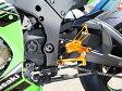 BABYFACE ベビーフェイス バックステップ レースステップキット カラー:ブラック ZX10R (16-)