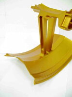 WUKAWAホイール本体AluminumForgedWheelType-Gカラー:GoldenZ1000(Air-cooled07-09