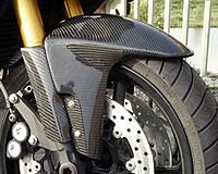 Magical Racing マジカルレーシング フロントフェンダー 素材:綾織りカーボン製 FZ1FAZER[フェザー]