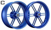WUKAWAホイール本体AluminumForgedWheelType-Cカラー:PurpleYZF-R603-13