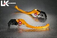 U-KANAYAツーリングタイプアルミビレットレバーセットアジャスターカラー:チタンカラーレバーカラー:ゴールド990SUPERDUKE[スーパーデューク]05-12