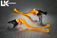 U-KANAYAツーリングタイプアルミビレットレバーセットアジャスターカラー:オレンジレバーカラー:ゴールドGSX1300RHAYABUSA[ハヤブサ]99-07