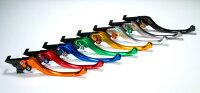 U-KANAYAツーリングタイプアルミビレットレバーセットアジャスターカラー:オレンジレバーカラー:オレンジGSX-R100007-08