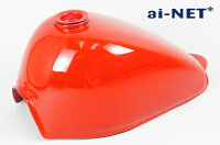 ai-netアイネットモンキー5L燃料タンク(ガソリンタンク)サイドカバーセットカラー:レッドモンキーZ50