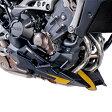 Puig プーチ アンダーカウル エンジンスポイラー カラー:ブラック (つや消し) MT-09 MT-09 TRACER