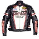 SIMPSON シンプソン ライディングジャケット SJ-7113 PUレザージャケット サイズ:4L