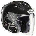HJCエイチジェイシージェットヘルメットHJH122FG-JETDUKAS(デュカス)ヘルメットサイズ:S(55-56cm)