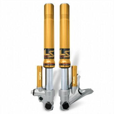 アールピーエム フロントフォーク Cygnus用 倒立フォーク カラー:ゴールド CYGNUS X