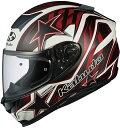 OGK KABUTO オージーケーカブト フルフェイスヘルメット AEROBLADE-5 VISION [エアロブレード・ファイブヴィジョン] フラットブラックレッド ヘルメット サイズ:XL(61-62cm未満)