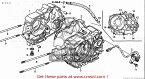 CMS シーエムエス その他エンジンパーツ CRANK CASE COMP,R C50BN 2008 (8) AA01-170 JAPAN (JDM) C50CM C50D C50S 2008 (8) JAPAN AA01-170 (JDM)