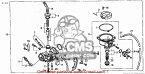 CMS シーエムエス キャブレター CARBURETOR ASSY (JDM) C50CM C50D C50S C50ST 2005 (5) JAPAN AA01-150 (JDM)