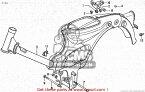 CMS シーエムエス サブフレーム FRAME BOD*PB236M* (JDM) C50CM 1997 (V) JAPAN