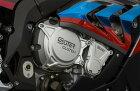 SUTERCLUTCHスータークラッチガード・スライダービレットエンジンクラッチ2次カバープロテクターS1000RR