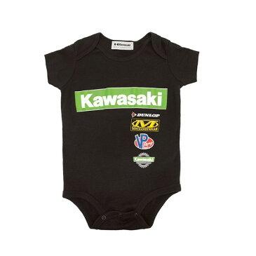 【在庫あり】US KAWASAKI 北米カワサキ純正アクセサリー Onsie レース Tシャツ 幼児用 (Infant Onsie Race T-Shirt) サイズ:06