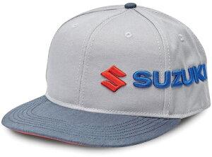 【在庫あり】 US SUZUKI 北米スズキ純正アクセサリー SUZUKI サイドウェイキャップ【Suzuki Sideways】 帽子