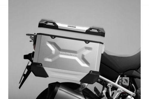 【イベント開催中!】 SW-MOTECH SWモテック パニアケース・サイドボックス TRAX ADVENTURE トラックス アドベンチャー サイドケース カラー:シルバー(素地)