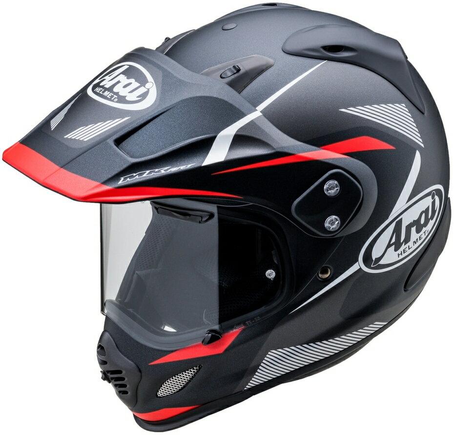 Arai アライ TOUR-CROSS3 BREAK [ツアークロス3 ブレイク ブラック/レッド] ヘルメット